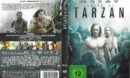 Legend of Tarzan (2016) R2 DE DVD Cover & Label