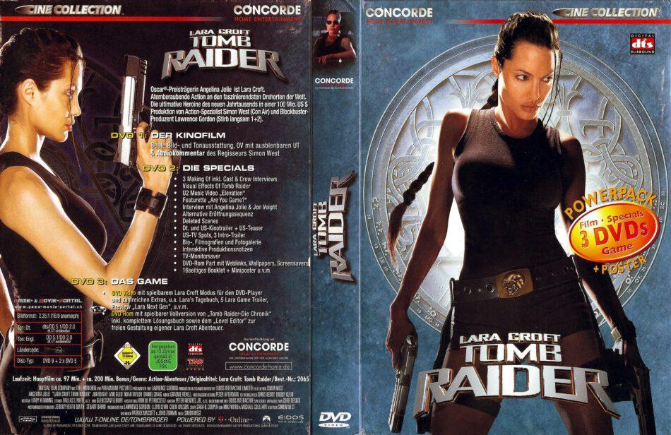 Tomb Raider Cine Collection R2 De Dvd Cover Dvdcover Com