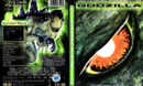 GODZILLA (1998) DVD COVER & LABEL