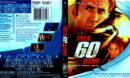 GONE IN 60 SECONDS (2000) BLU-RAY COVER & LABEL