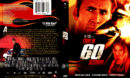 GONE IN 60 SECONDS (2000) DVD COVER & LABEL