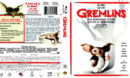GREMLINS (1984) BLU-RAY COVER & LABEL