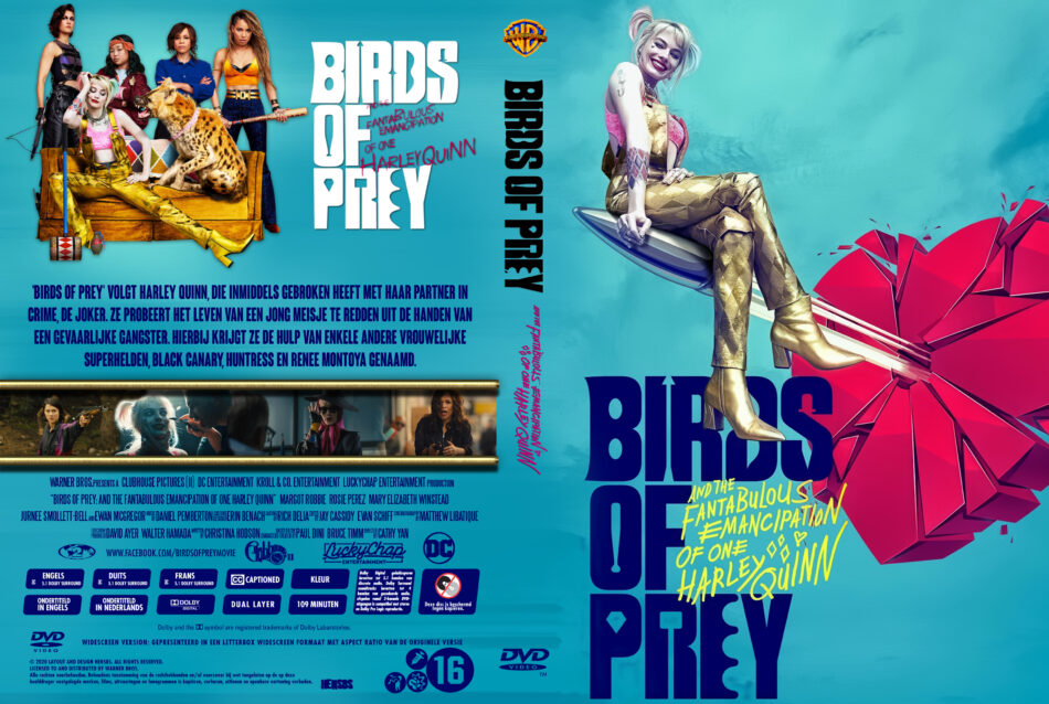 Birds Of Prey 2019 R2 Custom Dutch Cover Label Dvdcover Com