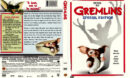 GREMLINS SPECIAL EDITION (1984) DVD COVER & LABEL