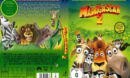 Madagascar 2 R2 DE Custom DVD Cover