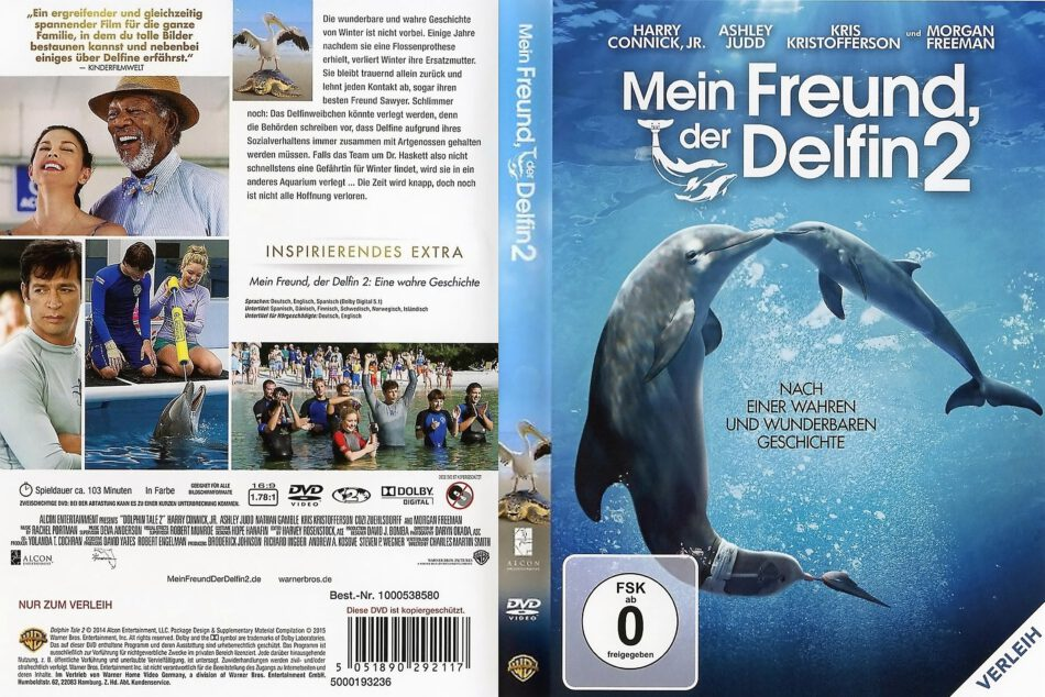 Mein Freund Der Delfin 2 2014 R2 De Dvd Cover Dvdcover Com