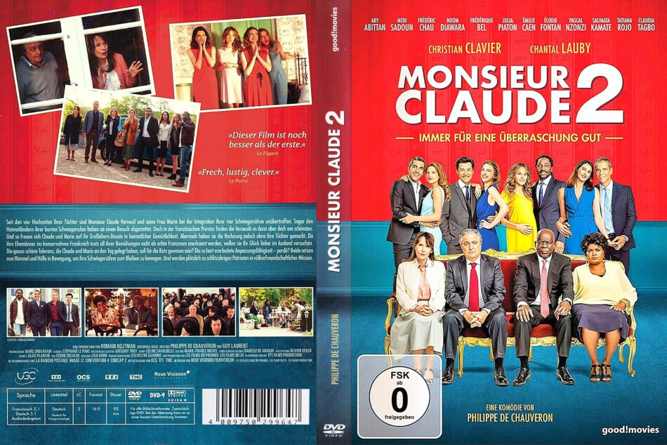 Monsieur Claude 2 2018 R2 De Dvd Covers Dvdcover Com