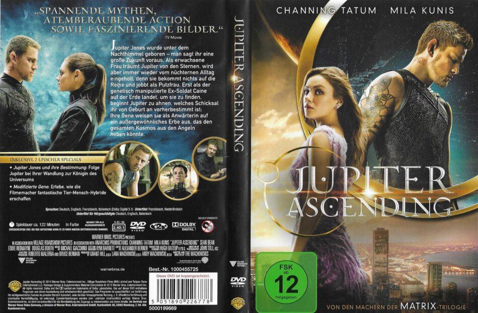 Jupiter Ascending 2015 R2 De Dvd Cover Label Dvdcover Com