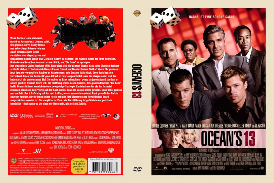 Ocean S Thirteen 2007 R2 De Dvd Covers Dvdcover Com