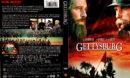 GETTYSBURG (1993) R1 DVD COVER & LABEL
