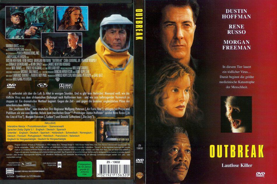 Outbreak 1995 R2 De Dvd Cover Dvdcover Com