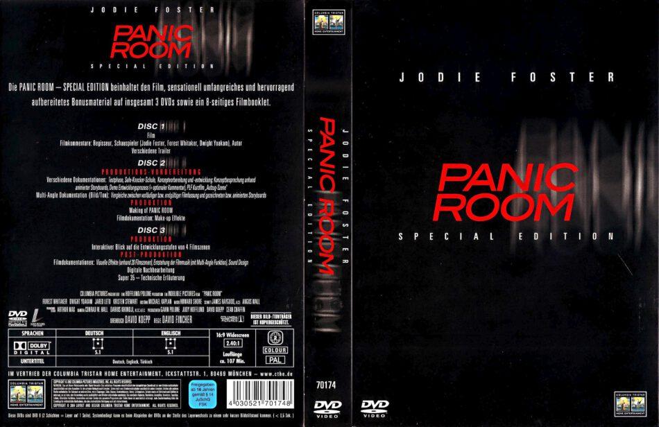Panic Room 2002 R2 De Dvd Cover Dvdcover Com