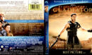 GLADIATOR SAPPHIRE SERIES (2000) BLU-RAY COVER & LABELS