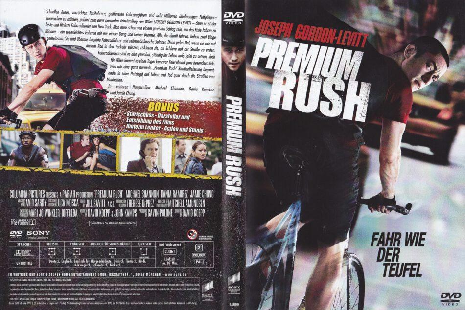 Premium Rush 2012 R2 De Dvd Cover Dvdcover Com