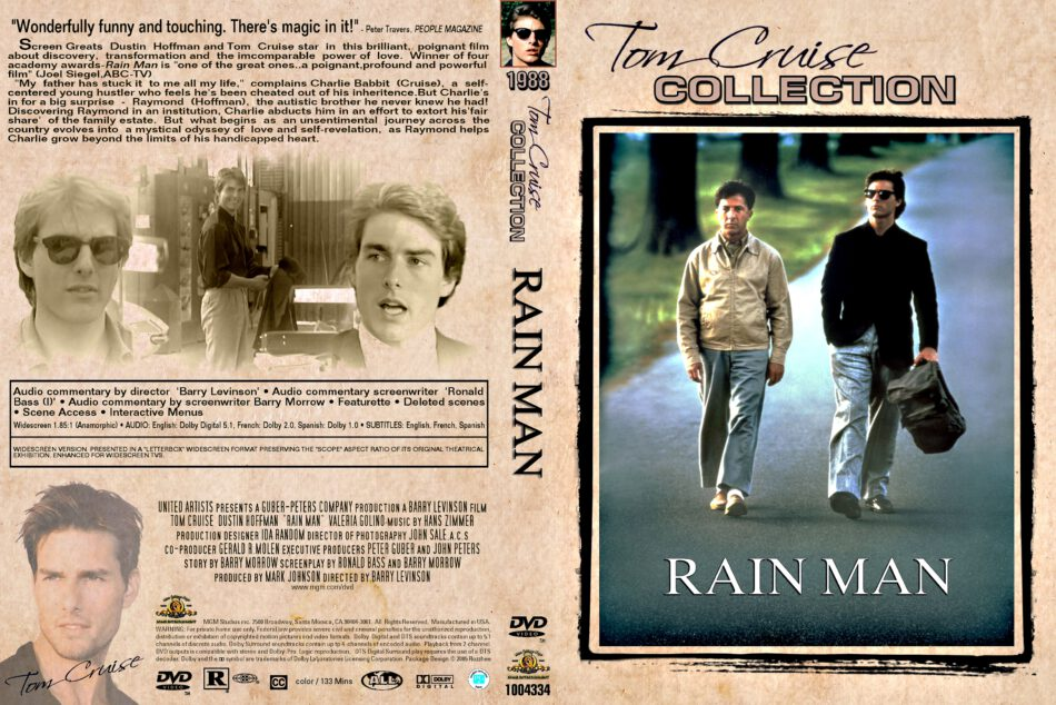 Rain Man 1988 R1 Dvd Covers Dvdcover Com