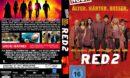 R.E.D. 2 (2013) R2 DE DVD Cover