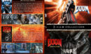 Doom Double Feature R1 Custom SLIM DVD Cover