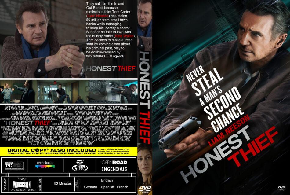 Honest Thief 2020 R0 Custom Dvd Cover Label Dvdcover Com