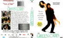 GREEN CARD (1990) DVD COVER & LABEL
