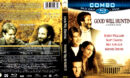 GOOD WILL HUNTING (1997) BLURAY-DVD COMBO COVER & LABEL