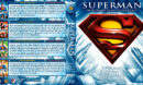 Superman Motion Picture Anthology - Volume 1 R1 Custom Blu-Ray Cover