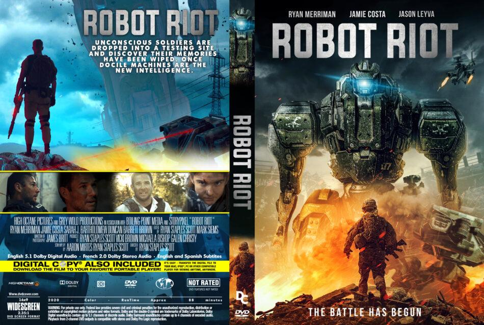 Robot Riot (2020) R1 Custom DVD Cover - DVDcover.Com
