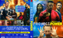 Project Power (2020) R1 Custom DVD Cover & Label