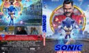 Sonic the Hedgehog (2020) R1 Custom DVD Cover & Label