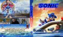 Sonic the Hedgehog (2020) R1 Custom DVD Cover & Label V2