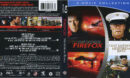 Firefox & Heartbreak Ridge: 2 Movie Collection (1982) Blu-Ray Cover & Labels