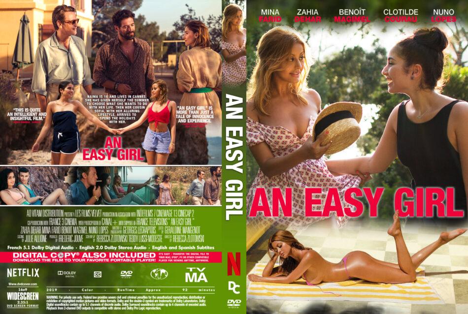 An easy girl ( Une fille facile ) (2019) R1 Custom DVD Cover - DVDcover.Com