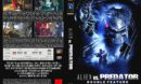 Alien vs.Predator-Double Feature (2007) R2 DE DVD Cover
