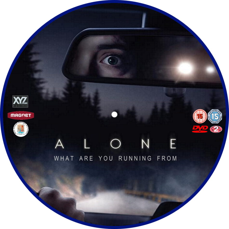 alone  2020  r2 custom dvd label