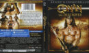 Conan The Destroyer (1984) Blu-Ray Cover & Label