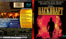 BACKDRAFT (1991) BLURAY COVER & LABEL