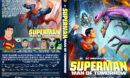 Superman: Man of Tomorrow (2020) Custom DVD Cover & Label