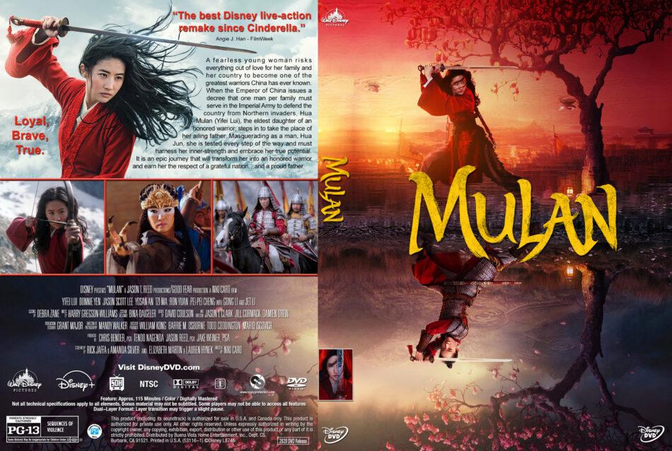 Mulan 2020 R1 Custom Dvd Cover Label V3 Dvdcover Com