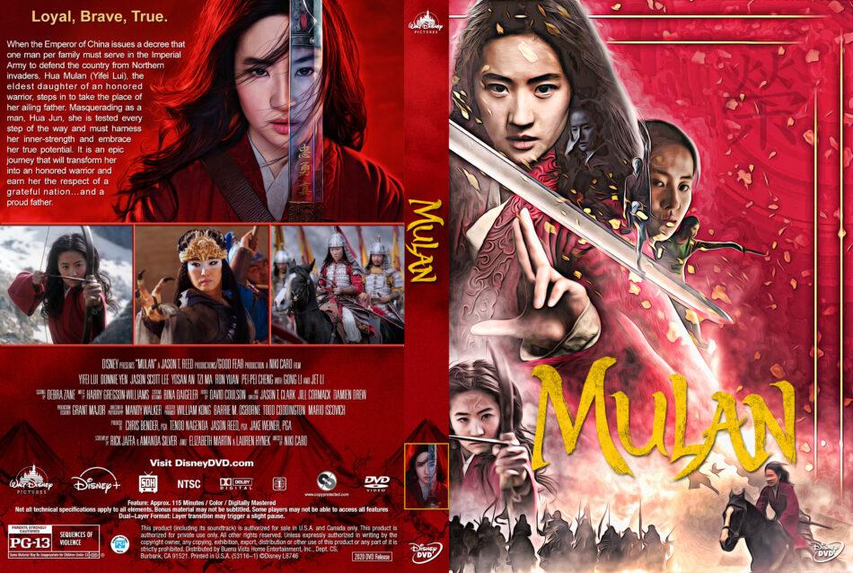 Mulan 2020 R1 Custom Dvd Cover Label V4 Dvdcover Com