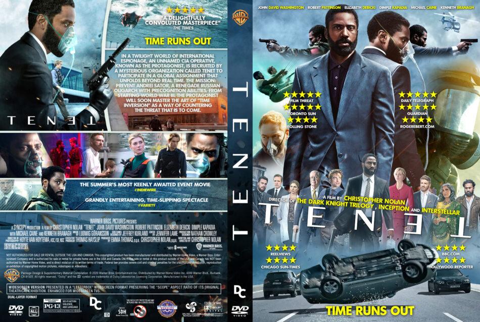Tenet 2020 R0 Custom Dvd Covers Label Dvdcover Com