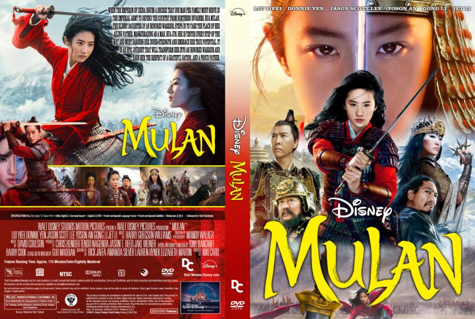 Mulan 2020 R1 Custom Dvd Cover Label Dvdcover Com