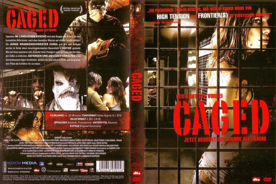 Caged (2011) R2 DE DVD Cover - DVDcover.Com