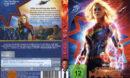 Captain Marvel (2019) R2 DE DVD Covers