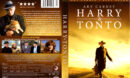 HARRY AND TONTO (1974) DVD COVER & LABEL