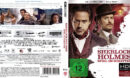 Sherlock Holmes - Spiel im Schatten (Custom) (2020) DE 4K UHD Covers & Label