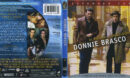 Donnie Brasco (1997) Blu-Ray Cover & label