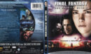 Final Famtasy: The Spirits Within (2001) Blu-Ray Cover & label