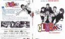 Clerks - Die Ladenhüter (1994) R2 DE DVD Covers & label