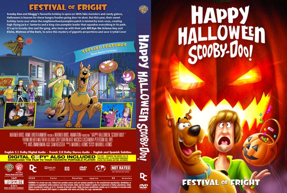 Halloween Soundtrack 2020 Runtime Happy Halloween, Scooby Doo! (2020) R1 Custom DVD Cover   DVDcover.Com