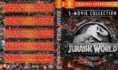 Jurassic World Collection (5) R1 Custom Blu-Ray Cover