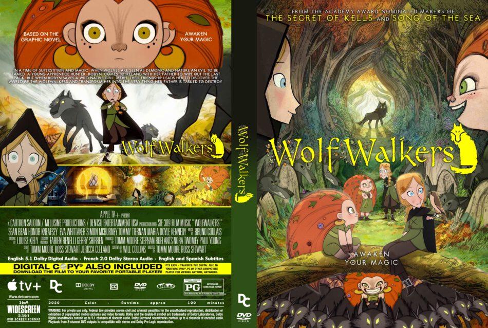 Wolfwalkers (2020) R0 Custom DVD Cover - DVDcover.Com